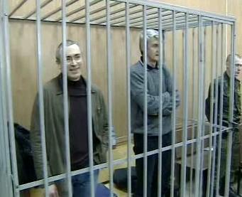 Chodorkovskij před soudem