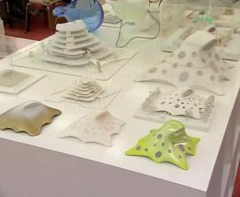 Modely nové budovy Národní knihovny
