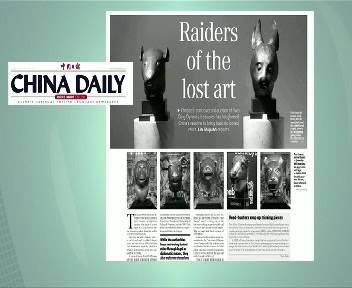 China Daily o sochách z pozůstalosti Yves Saint Laurenta