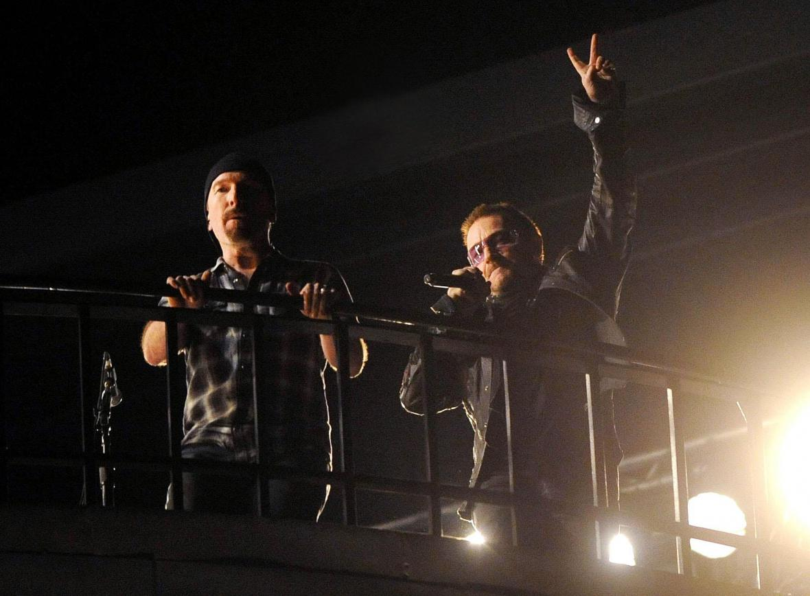 Bono Vox a Adam Clayton