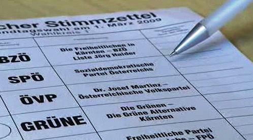 Volby v Korutanech