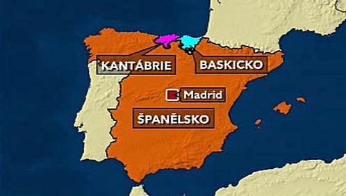 Baskicko a Kantábrie