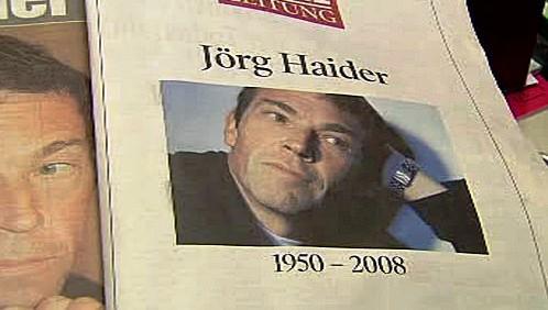 Rakouský tisk o smrti Jörga Haidera