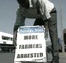 Další farmáři zatčeni