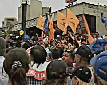 Demonstrace proti Hugo Chávezovi