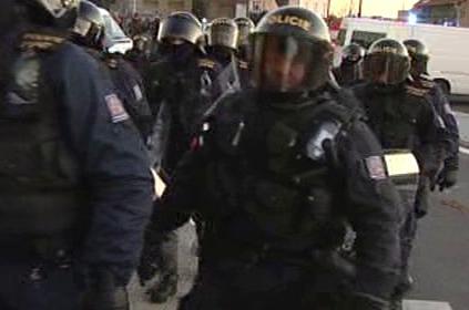 Policisté v pohotovosti