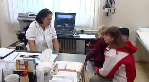 Ordinace dětské lékařky