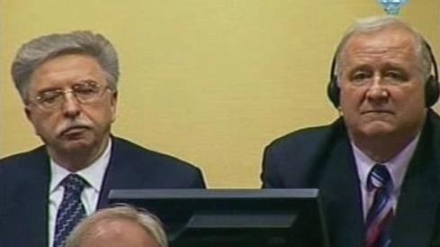 Srbští představitelé před haagským tribunálem