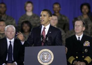 Barack Obama na Camp Lejeune