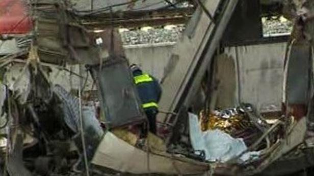 Výbuch ve vlaku v Madridu