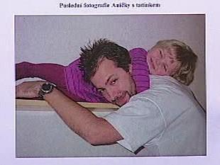 Zdeněk Hromádka s dcerou