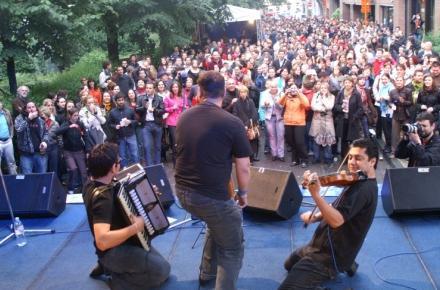 Gipsy.cz na Czech Street Party Brusel
