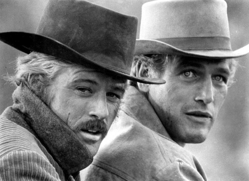 Rober Redford a Paul Newman