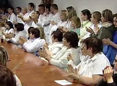Personál karlovarské nemocnice