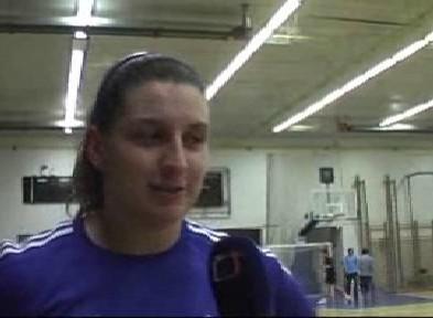 Kladivářka Kateřina Šafránková