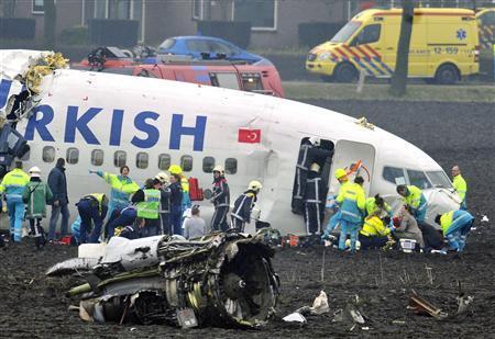 Nehoda letadla u Amsterodamu