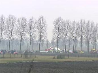 Nehoda letadla v Nizozemsku