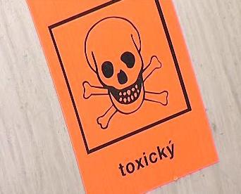 Nebezpečí kontaminace toxickou látkou