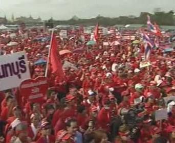 Demonstrance v Thajsku