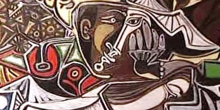 Z výstavy Pabla Picassa