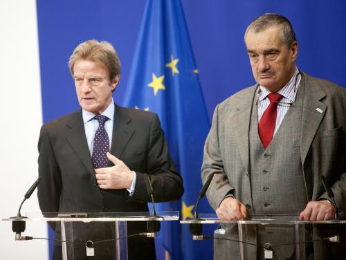 Bernard Kouchner a  Karel Schwarzenberg