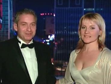 Petr Forejt s manželkou