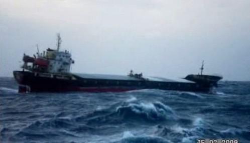 Čínská nákladní loď New Star