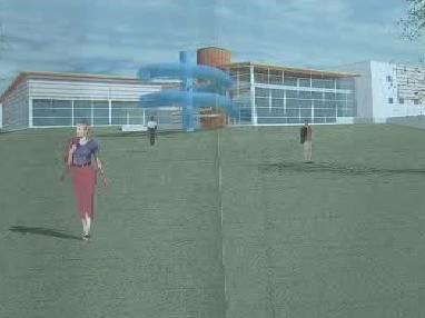 Studie plaveckého stadionu