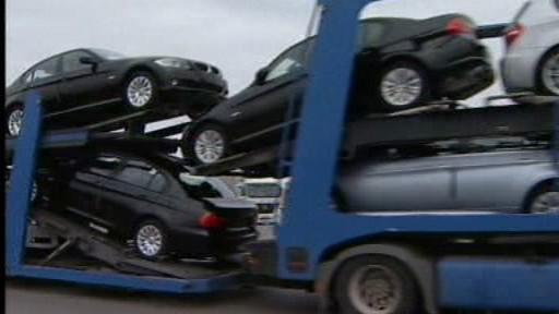 Pokles prodeje aut v EU klesl