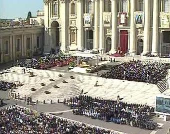 Svatořečení ve Vatikánu
