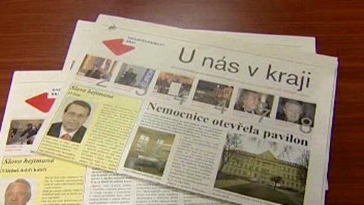 Noviny U nás v kraji
