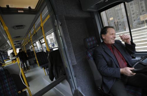 Nový autobus pražské MHD