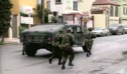 Přestřelka v mexických ulicích