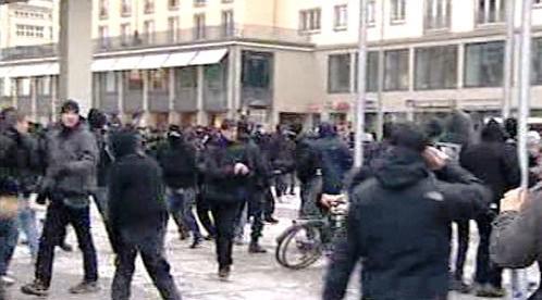 Demonstrace v Drážďanech
