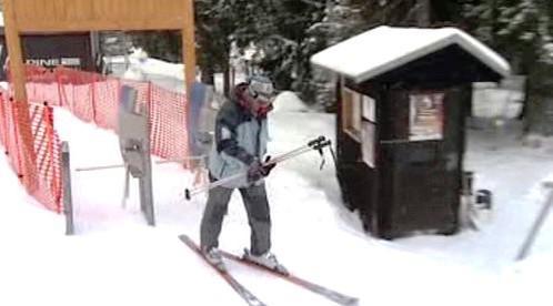 Zimní sezóna v Tatrách