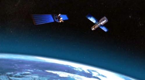 Srážka satelitů