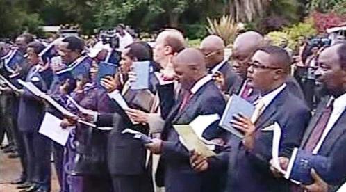 Slib nových zimbabwských ministrů