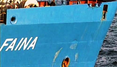 Ukrajinská loď Faina
