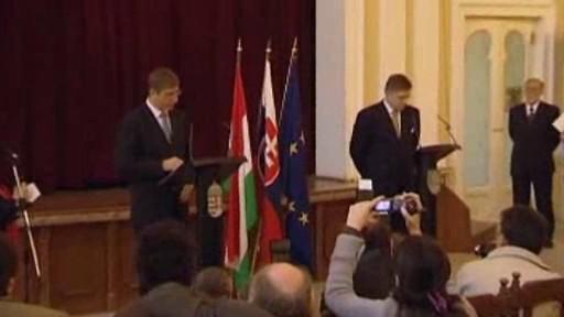 Premiéři Maďarska a Slovenska