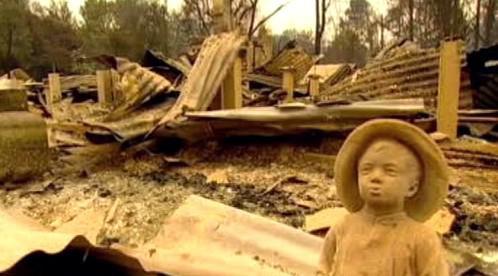 Následky požáru v Austrálii
