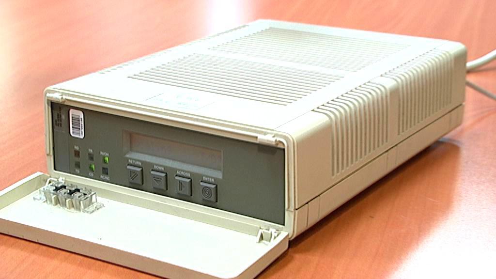 Modem pro vytáčené připojení k internetu