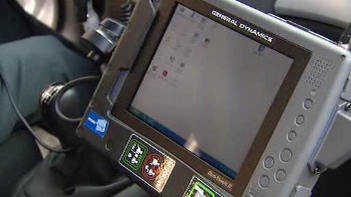 Nové vybavení policejních vozů