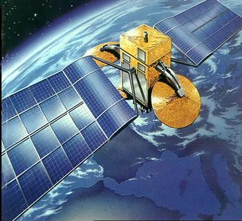 Ilustrační foto - satelit