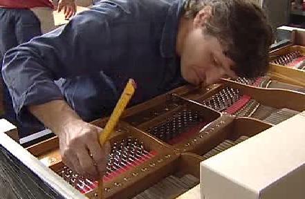 Výroba klavíru