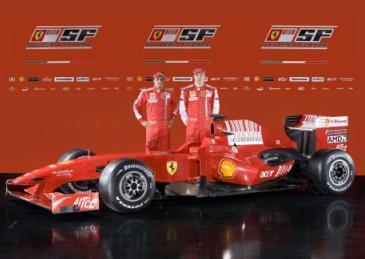 Felipe Massa, Kimi Raikkonen a Ferrari F60