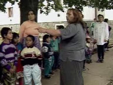 Romové v Matiční ulici