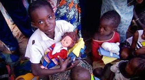 Senegalské děti
