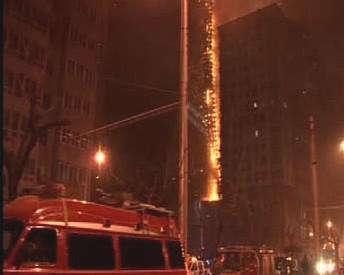 Požár hotelu