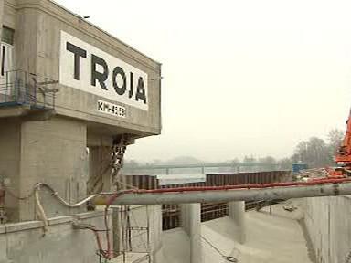 Vodní elektrárna v Tróji