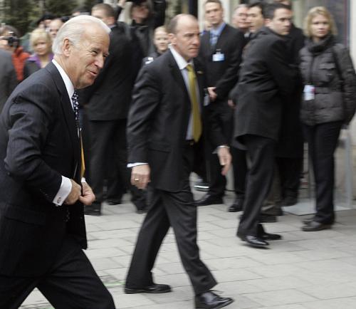 Americký vicepremiér Joe Biden